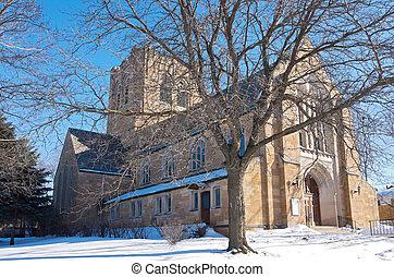neo, st., igreja gótica, marco, paul