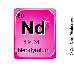 Neodymium chemical element