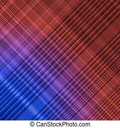 Neon abstract lines design on dark background