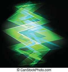 neon, abstract, vector, achtergrond, concept, mal