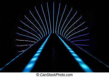 neon, abstrakcyjny, tło