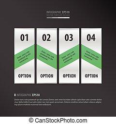 neon, artikel, vector, groene, 4, ontwerp, spandoek