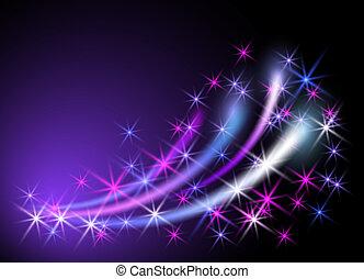 neon, baggrund