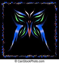 Neon Butterfly.