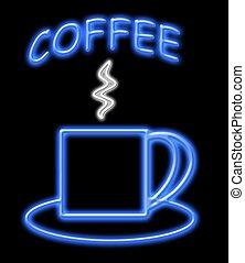 Neon Coffee Sign
