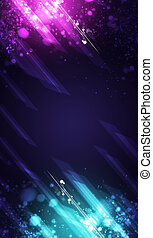 Neon Colors Music Banner