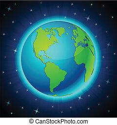 Neon Earth - America.