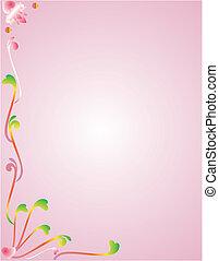 Neon Flower memo board