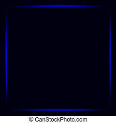 Neon frame, lights frame background