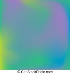 Neon holographic colorful vector background. Abstract soft pastel colors backdrop. In violet, green and blue colors.
