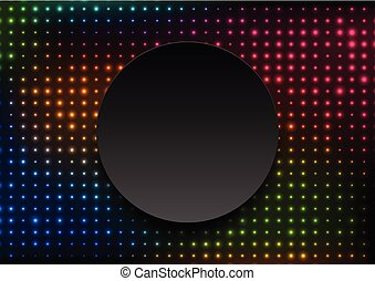Neon led lights abstract glowing background