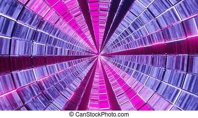 neon pattern fly through 3d rendering visual dj loop in 4k uhd 60fps,