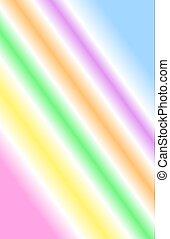 Neon Rainbow - A Gradient of neon rainbow colors