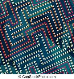 neon seamless pattern