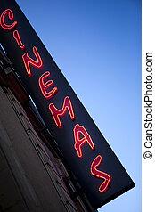 Neon sign