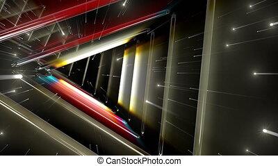 Neon Tubes Tunnel VJ