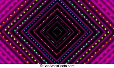 Neon VJ Loop Background.