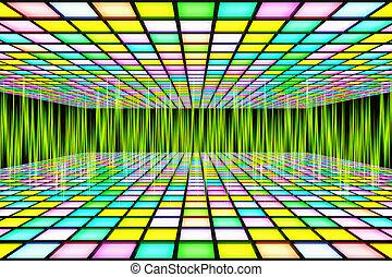 neon waveform pattern backgrounds - neon waveform pattern....