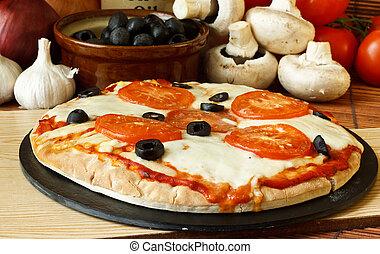 neopolitan, pizza