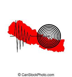nepal , σεισμός , tremore