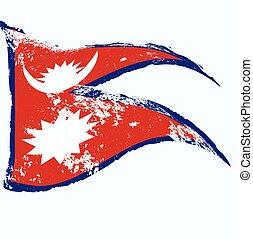 nepal 旗