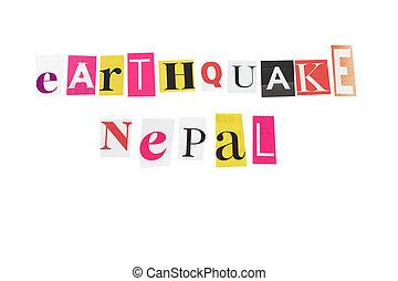 nepal, aardbeving