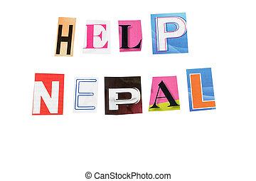 nepal, ayuda
