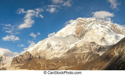 nepal, berge, fehler, himalayas, zeit, everest, nuptse