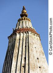 nepal, torenspits, stupa