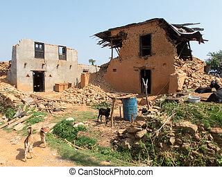 nepal, trzęsienie ziemi