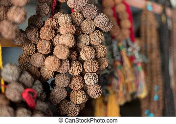 Nepalese traditional handicrafts and souvenirs Kathmandu