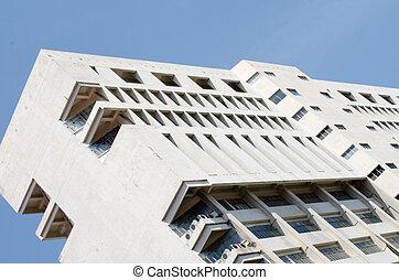 neposkvrněný, budova, tkanivo