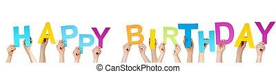 neposkvrněný, narozeniny, šťastný