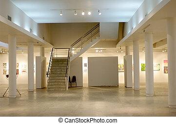 neposkvrněný, umělecká galerie