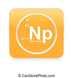 neptunium button