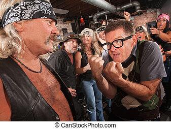 nerd, 直面, ギャングのメンバー