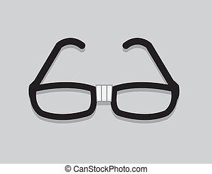 nerd, szemüveg