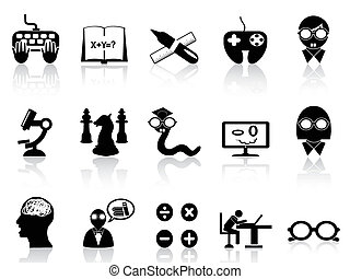 nerds icon set