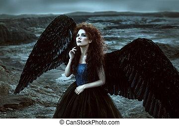 nero, ali, angelo