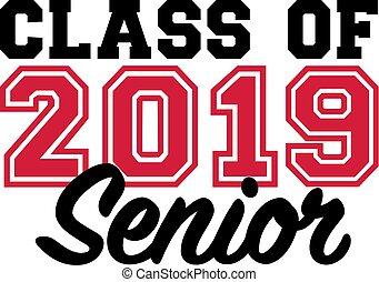 nero, anziano, 2019, classe, rosso