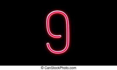 nero countdown number