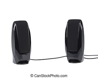 nero, due, speaker.