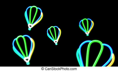 nero light balloon green - the balloon graphic of nero light...