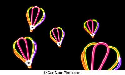 nero light balloon orange