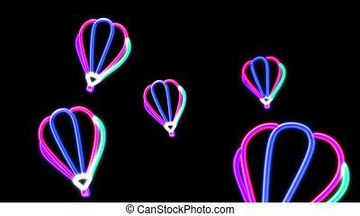 nero light balloon pink - the balloon graphic of nero light...