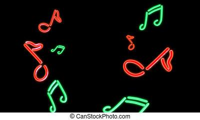 nero Music  - the music graphic of nero light glow