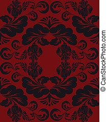 nero rosso, ornamento