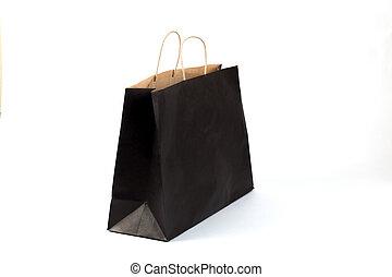 nero, sacchetto spesa