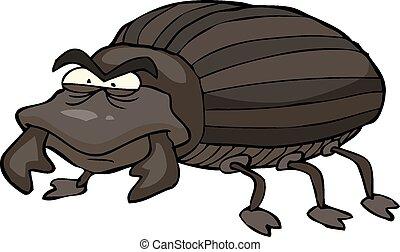 nero, scarabeo