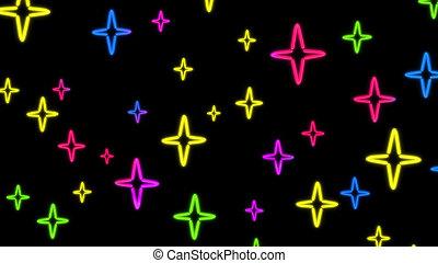 nero star color random - the star graphic of nero light glow